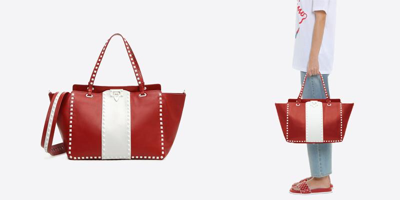 Valentino Free Rockstud购物袋