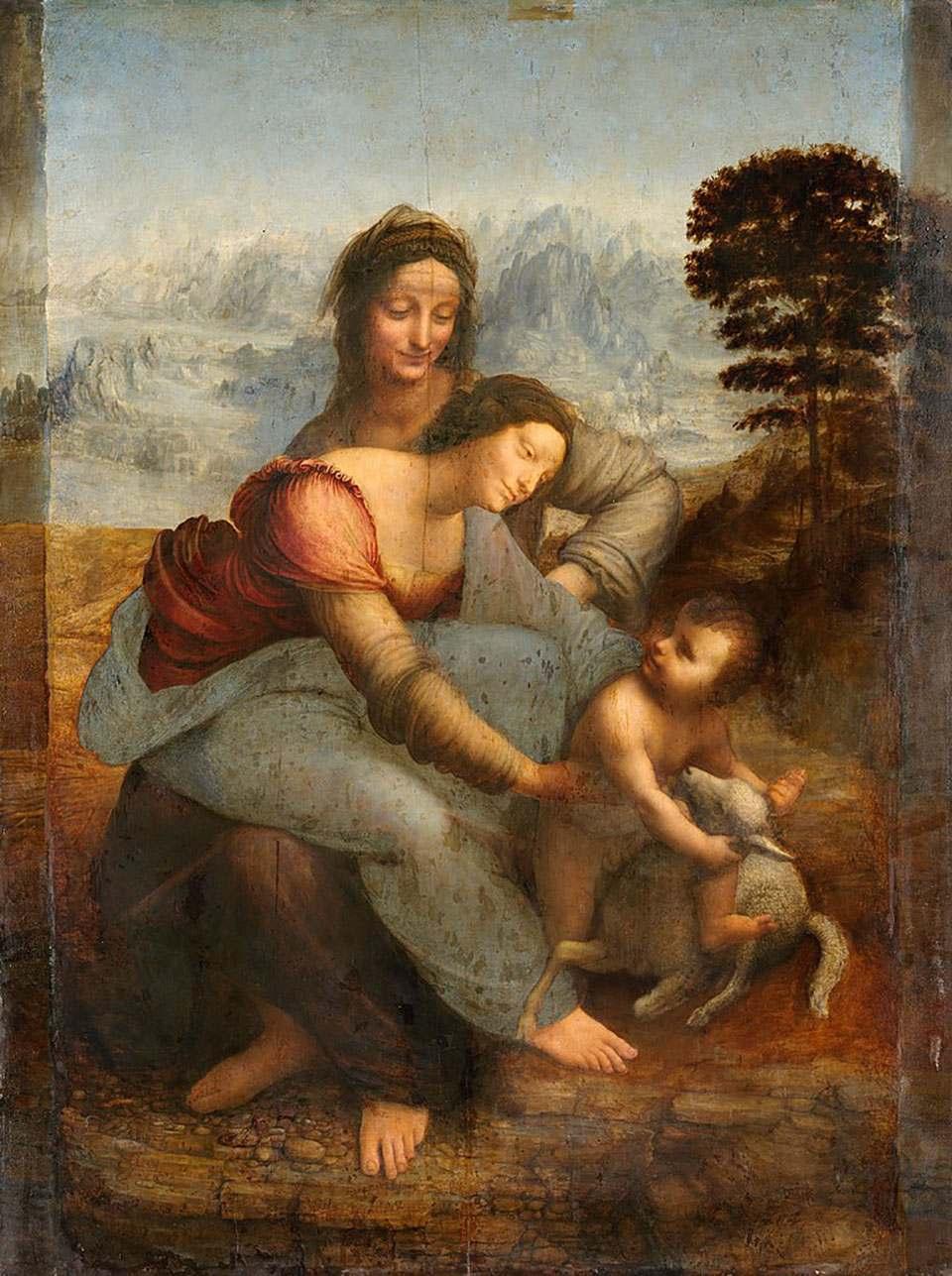圣母子与圣安妮