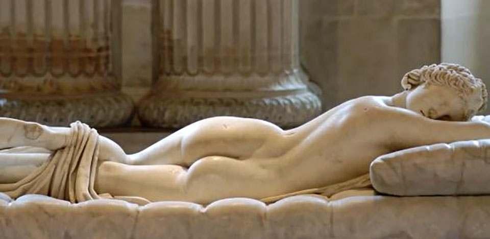 沉睡的海尔玛弗狄忒