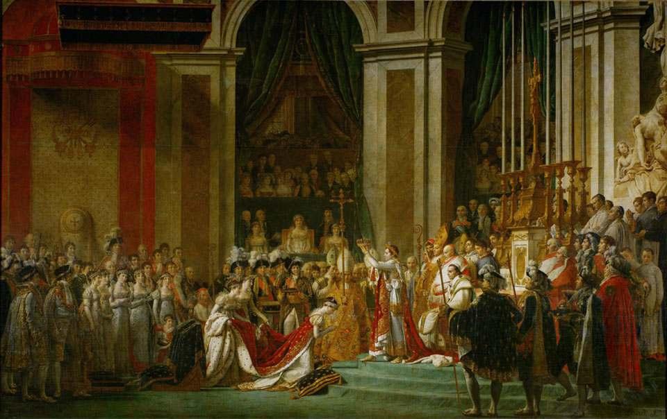 拿破仑一世与约瑟芬皇后加冕礼