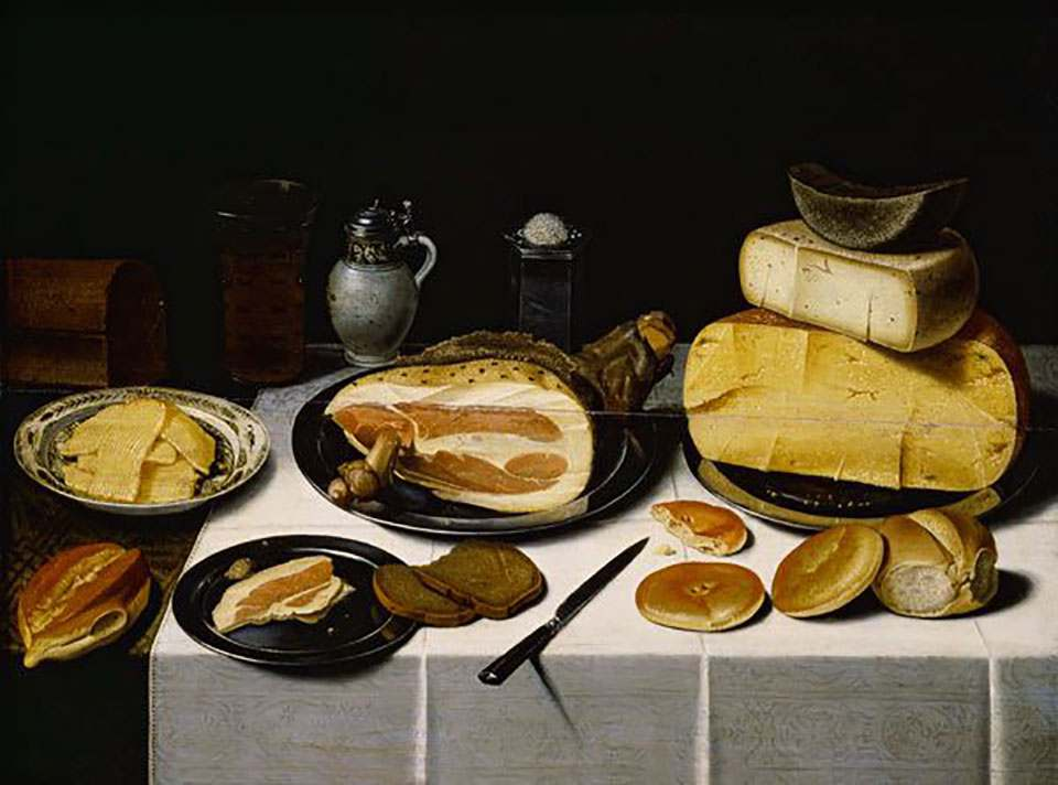 Still-life with Ham