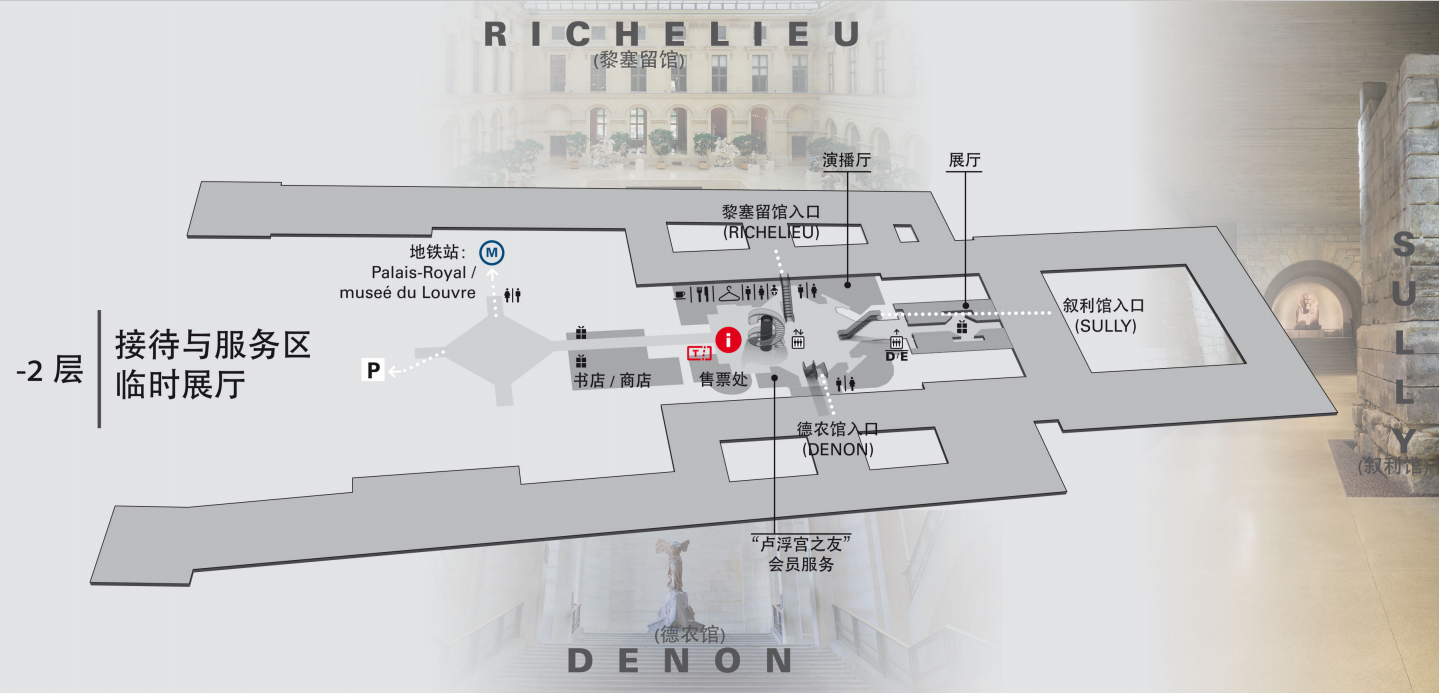 卢浮宫馆内信息