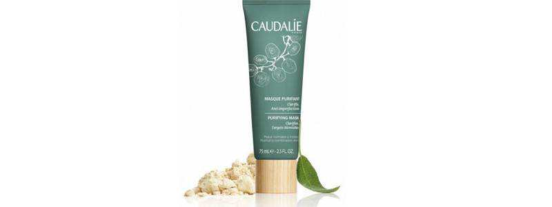 Caudalie facial mask