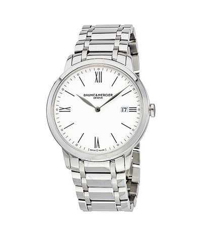 baume-et-mercier-classima-white-dial-ladies-watch-10354