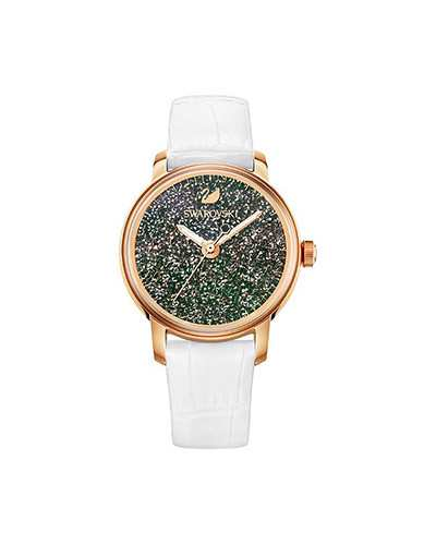 Swarovski-Crystalline-Hours-Watch-Leather-strap-White-Rose-gold-tone-5344635-W600