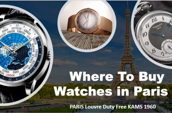 buy watches in paris