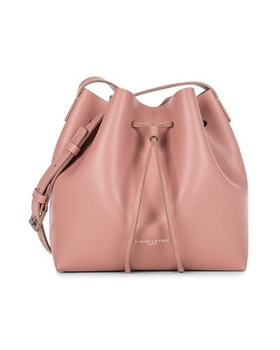 兰嘉斯汀粉色水桶包