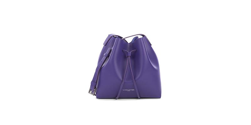 兰嘉斯汀紫色迷你水桶包