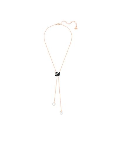 Swarovski Iconic Swan Double Y Necklace