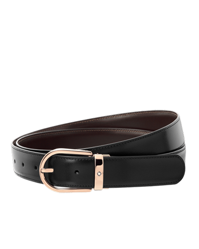mont blanc business belt 111633
