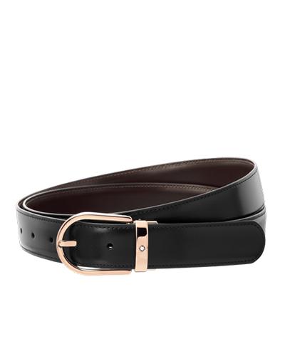 mont blanc business belt 111633