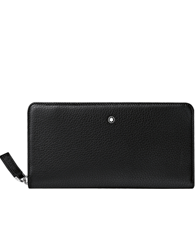 mont blanc meisterstuck soft grain long wallet 114470