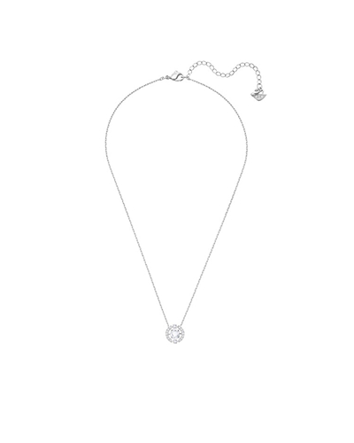swarovski Sparkling Dance Round Necklace white