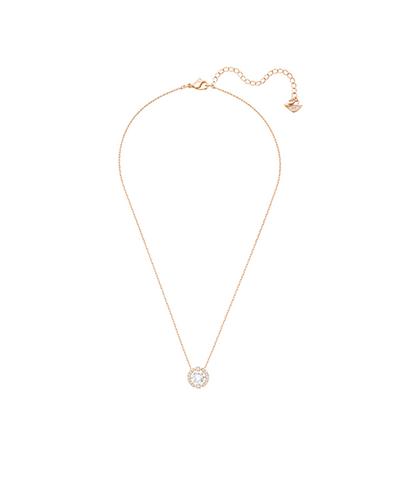 swarovski sparkling dance round necklace