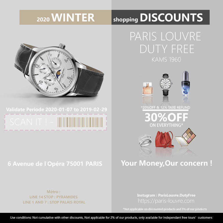 paris shopping voucher