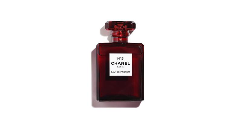 香奈儿五号香水红瓶限量版