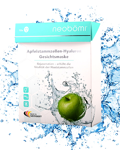 Neobömi Apple stem cell face mask