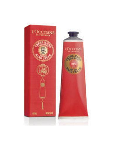 L'Occitane欧舒丹2019中国红乳木果护手霜