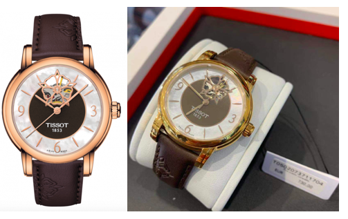 TISSOT 天梭女士之心LADY HEART POWERMATIC 80女表