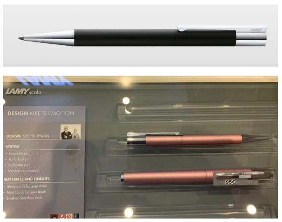 LAMY凌美 Scala ballpoint pens圓珠笔