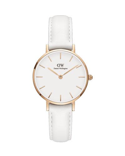 DW 白色腕表
