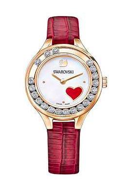 Swarovski施华洛世奇LOVELY CRYSTALS MINI系列女士红色腕表5297584