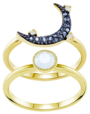 Swarovski施华洛世奇星月戒指
