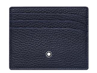万宝龙大班系列软皮粒纹袖珍卡片夹