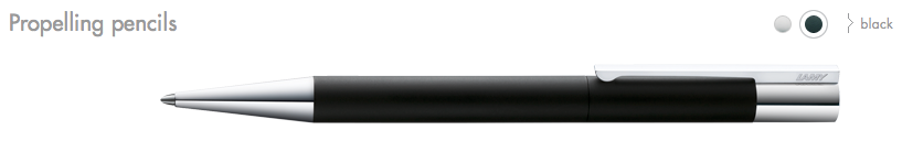 LAMY Scala Propelling Pencils