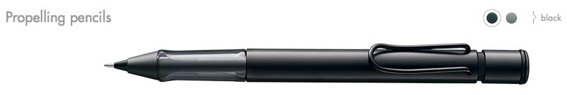 Lamy AL-star Propelling pencils