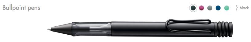 Lamy AL-star Ballpoint pens