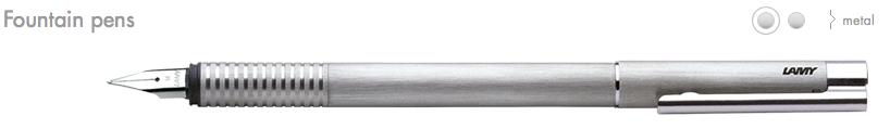 LAMY Logo Fountain Pens