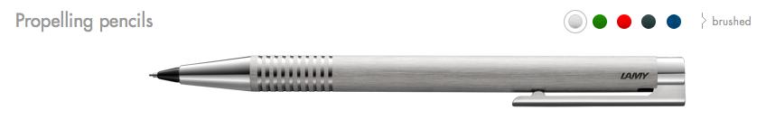 LAMY logo Propelling pencils