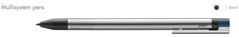 LAMY Logo Multisystem Pens