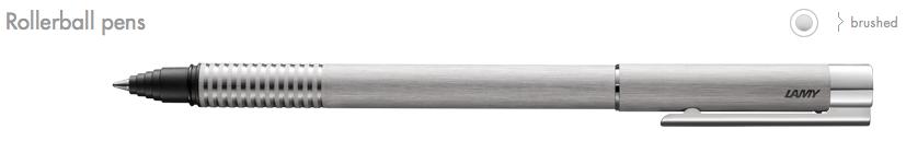 LAMY Logo Rollerball Pens