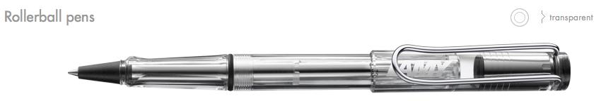 LAMY-Vista Rollerball Pens