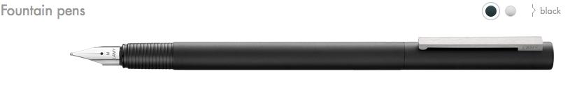 LAMY-Cp1 Fountain Pens