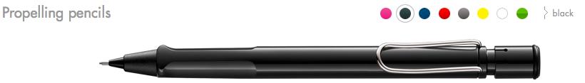 LAMY Safari Propelling Pencils