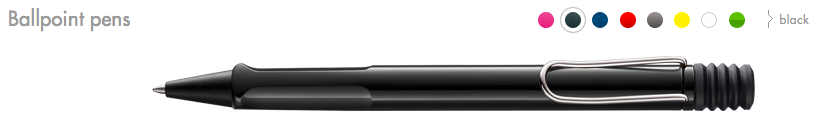 LAMY Safari Ballpoint Pens