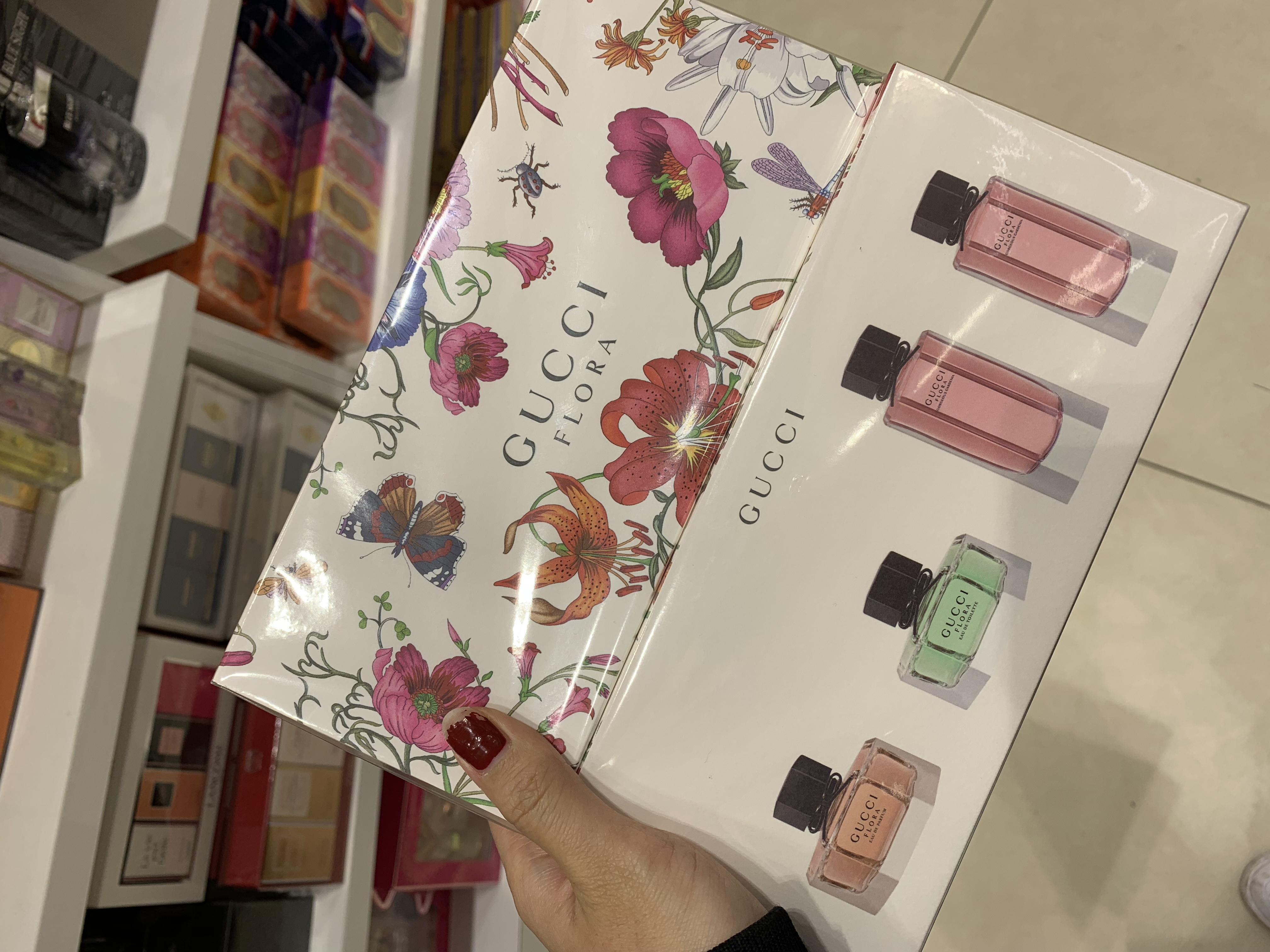 古驰Gucci FLORA 精典迷你香氛禮盒 5ML 4入組合