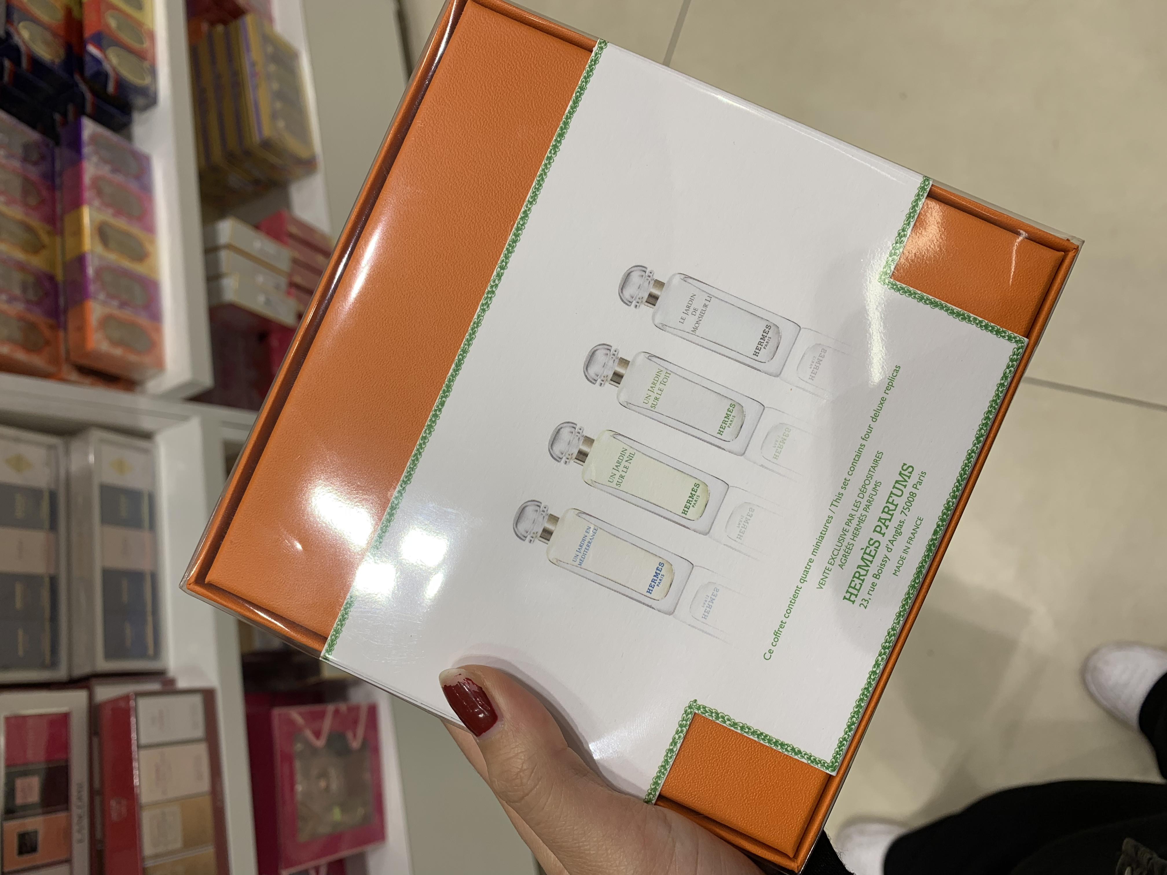 爱马仕花园系列香水套盒 7.5ML 4入組合