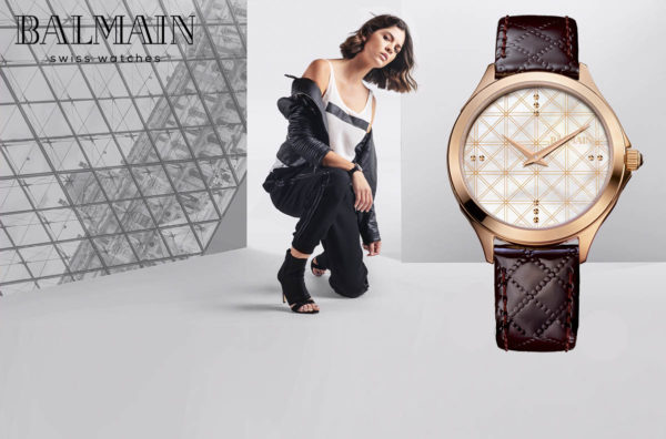 Balmain watches paris