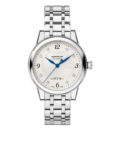 Mont Blanc 万宝龙波西米亚日期自动30毫米手表111056