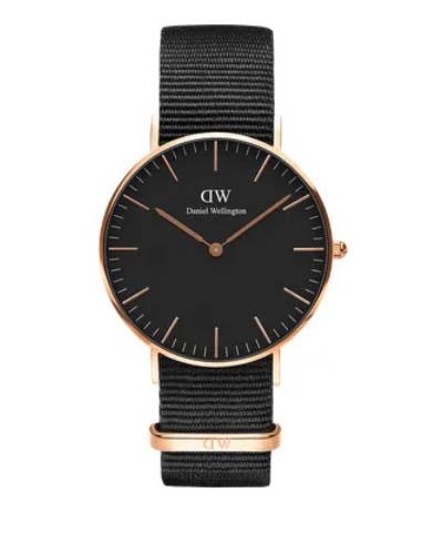 Daniel Wellington 丹尼尔 . 惠灵顿 CLASSIC BLACK CORNWALL 36MM DW00100150
