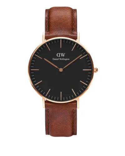 Daniel Wellington 丹尼尔 . 惠灵顿 CLASSIC BLACK ST MAWES DW00100136