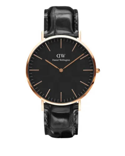 Daniel Wellington 丹尼尔 . 惠灵顿 CLASSIC BLACK READING 40MM DW00100129
