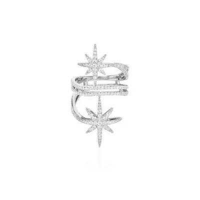 APM Monaco纯银镶晶钻戒指
