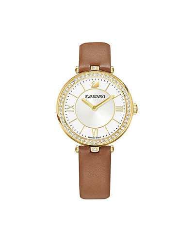 Swarovski-Aila-Dressy-Lady-Watch-Leather-strap-Brown-Gold-tone-5376645-W600-1