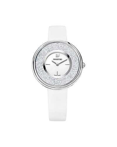 Swarovski-Crystalline-Pure-Watch-Leather-strap-White-Silver-tone-5275046-W600
