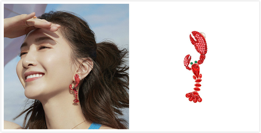 Swarovski耳环